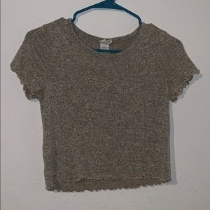 EUC Caution to the Wind crop top